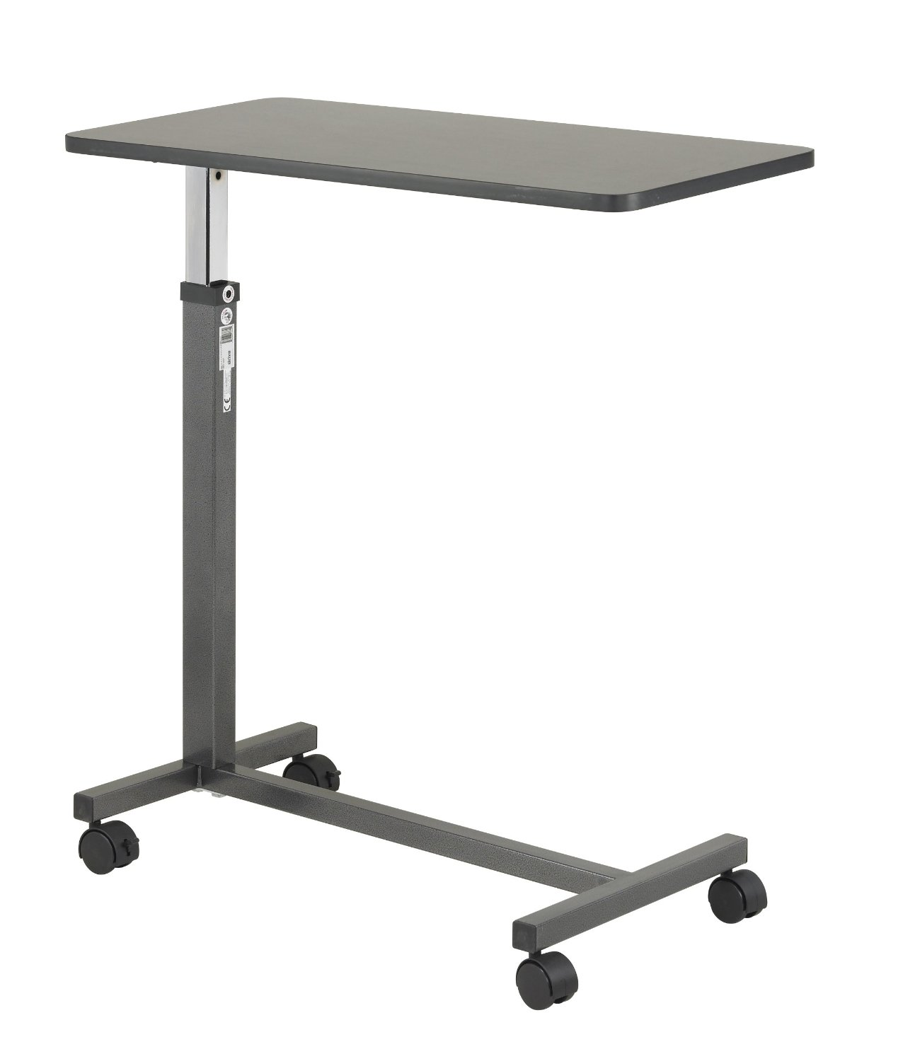 Laptop bed table tray - Drive Medical Non Tilt Top Overbed Table