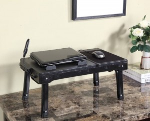 Kings Brand Multifunctional Laptop Table Stand With Cooling Fan