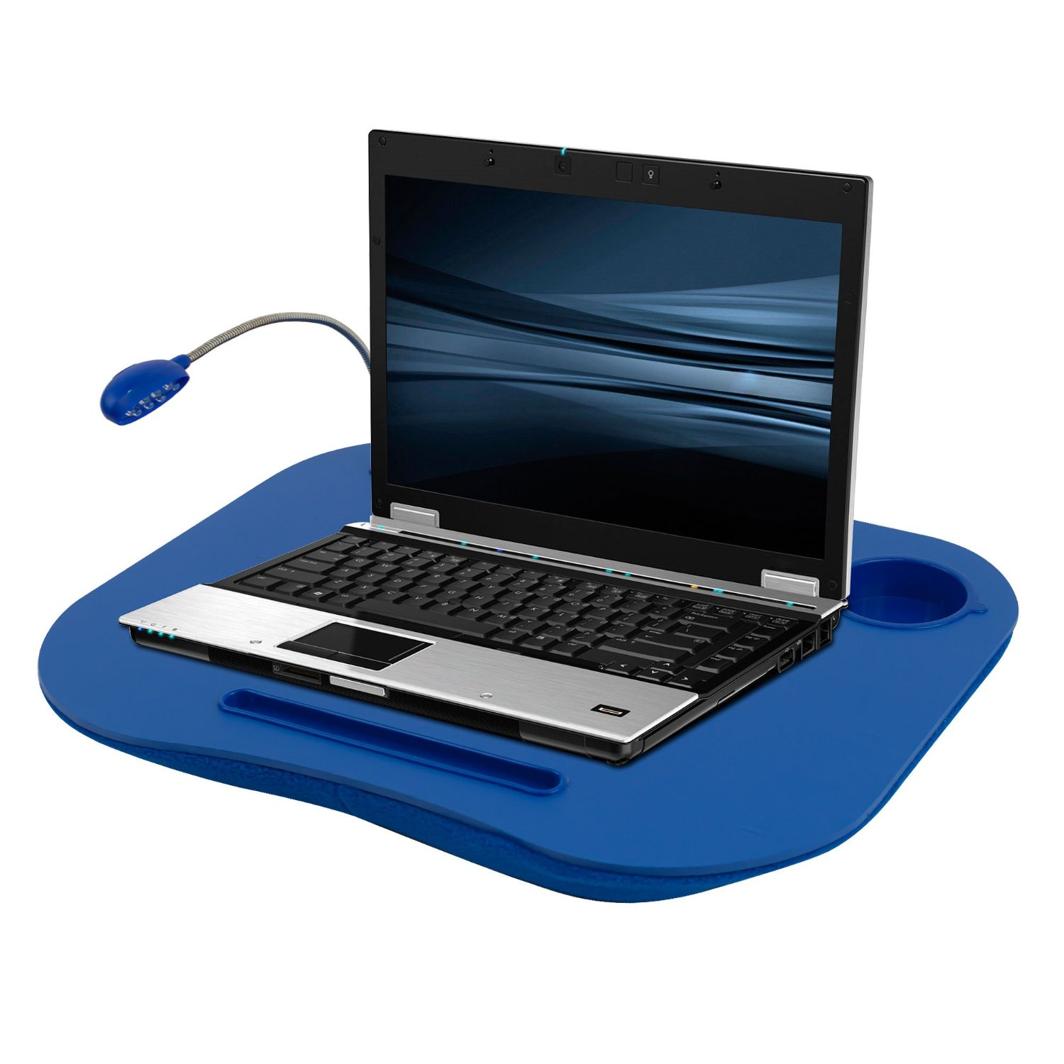 Laptop Buddy Desk And Cup Holder