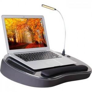 Sofia+Sam Deluxe Memory Foam Lap Desk with USB Light