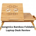 Songmics Bamboo Foldable Laptop Desk Review