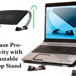 Increase Productivity with adjustable laptop stand