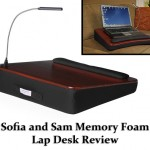 Sofia and Sam Memory Foam Lap Desk Review