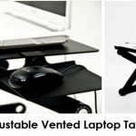 iCraze Adjustable Vented Laptop Table Review