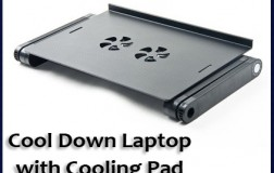 Cool Down Laptop with Cooling Pad